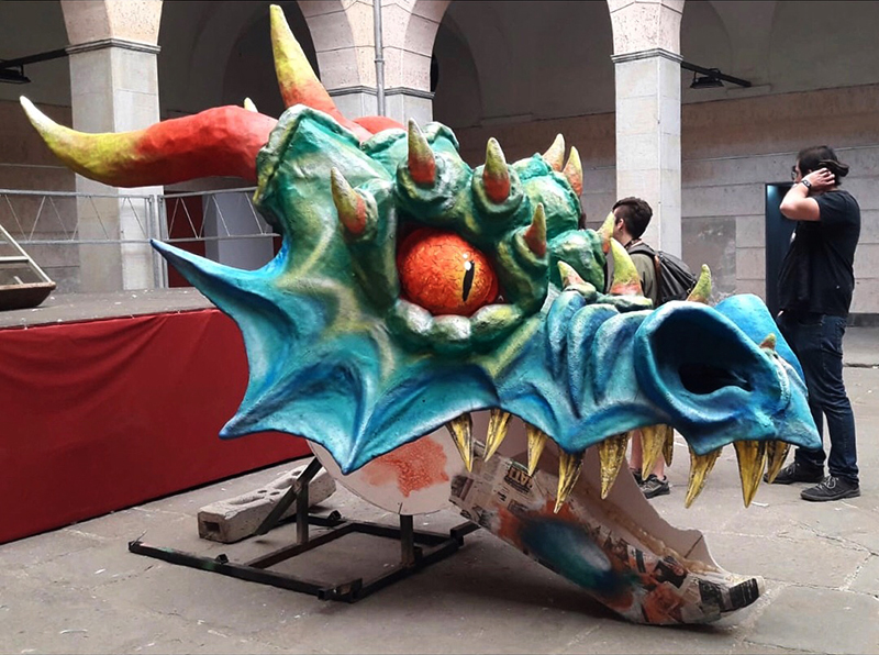 cabeza dragon