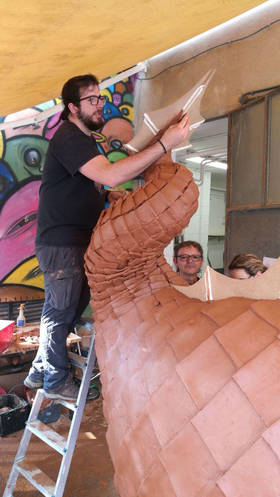 Escultura dragon