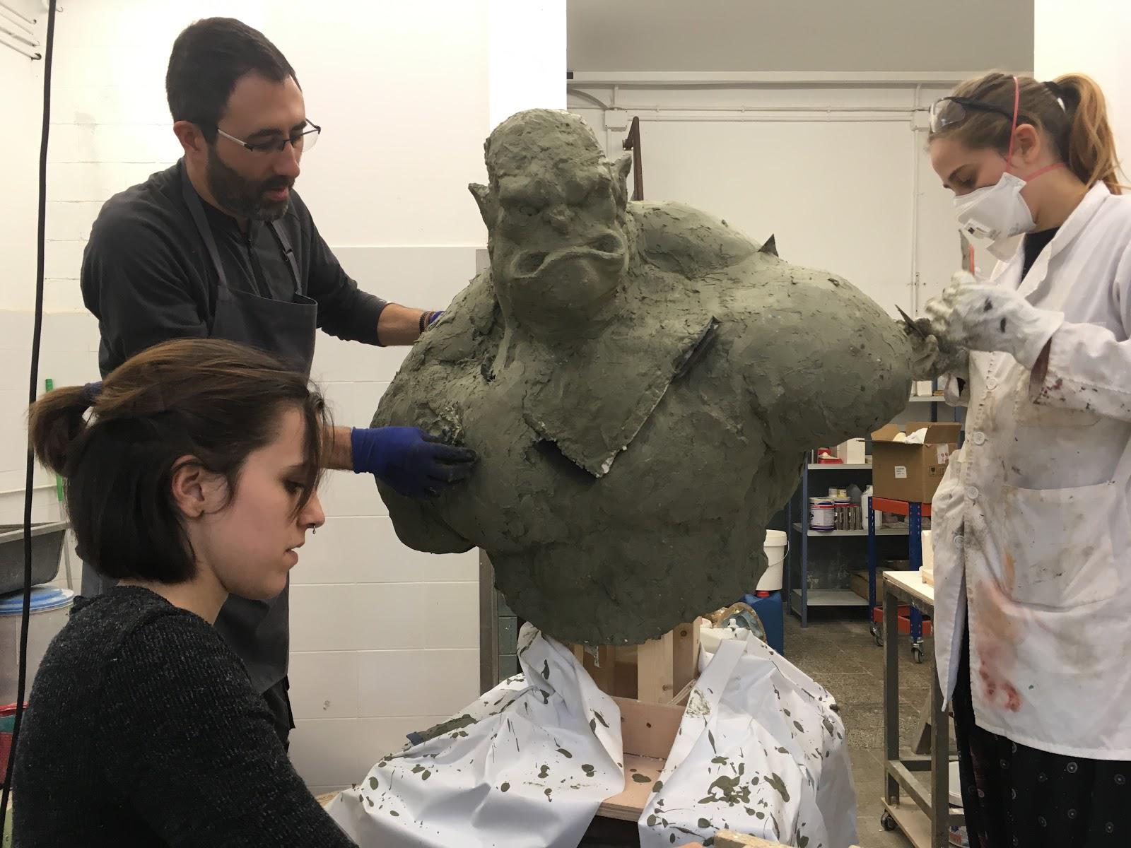 Escultura Aplicada A L'Espectacle