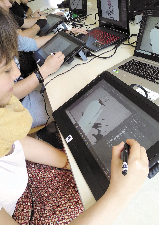 Cursa El Cicle Formatiu D'Il·lustració, El Grau Superior Més Demandat A Catalunya